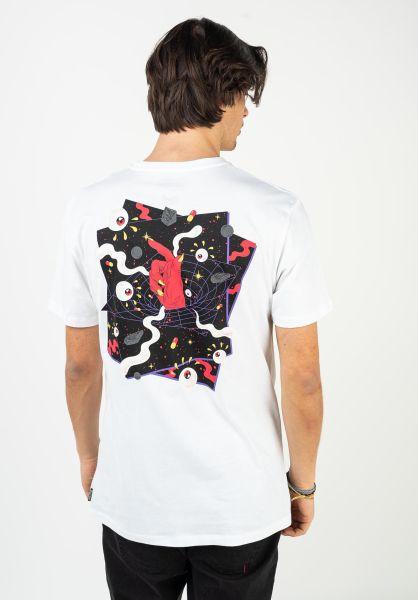 Volcom T-Shirts Freak City white vorderansicht 0323493
