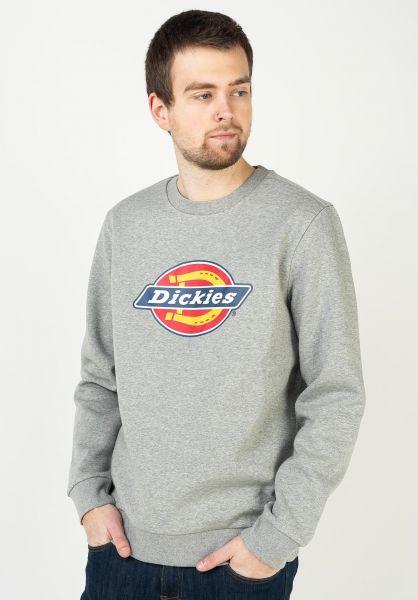 Dickies Sweatshirts und Pullover Icon Logo greymelange vorderansicht 0423101