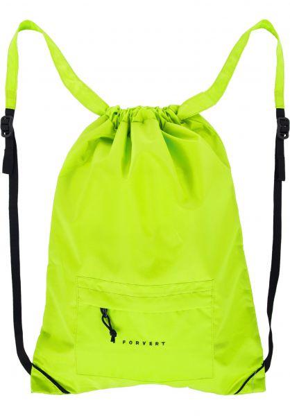 Forvert Taschen Neon Lee yellow Vorderansicht