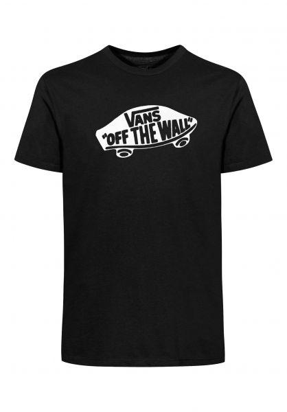 Vans T-Shirts OTW Kids black-white Vorderansicht