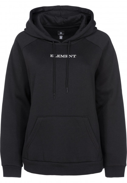 Element Hoodies Start black Vorderansicht