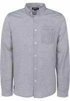 Mahagony Hemden langarm Mangan navy-stripe Vorderansicht