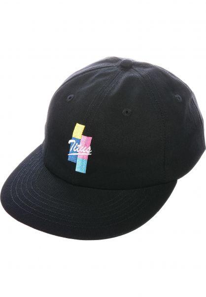 TITUS Caps Dario Cap black vorderansicht 0566701