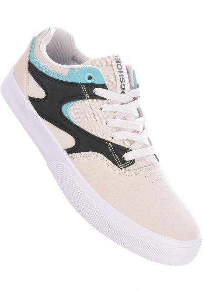 DC Shoes Alle Schuhe Kalis Vulc grey-black-white vorderansicht 0604732