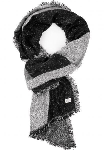 Levi's® Schals Assymetrical Fringe Wrap grey Vorderansicht 0143219