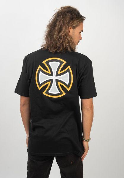 Independent T-Shirts BC Primary black vorderansicht 0320443