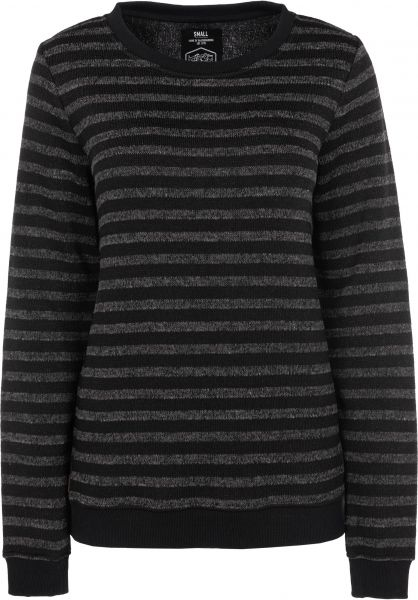 TITUS Strickpullover Gloria grey-striped Vorderansicht