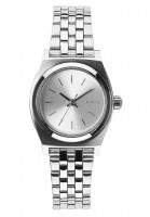 Nixon Uhren The Small Time Teller all-silver Vorderansicht