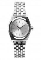 Nixon Uhren The Small Time Teller all-silver Vorderansicht