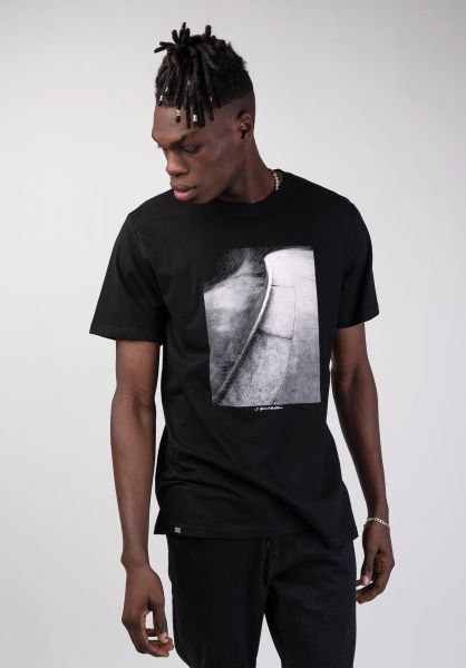 Dedicated T-Shirts Stockholm Pool Coping black vorderansicht 0320253