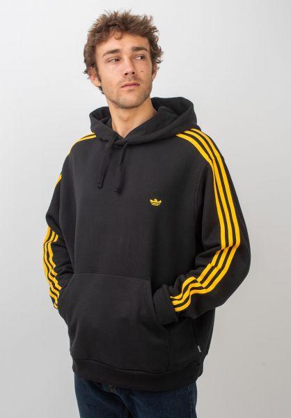 adidas-skateboarding Hoodies Mini Shmoo black-activegold vorderansicht 0445539