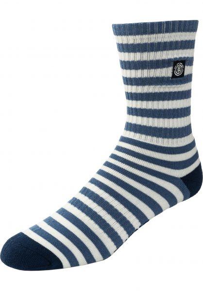 Element Socken Resplend blue-stripes vorderansicht 0632135