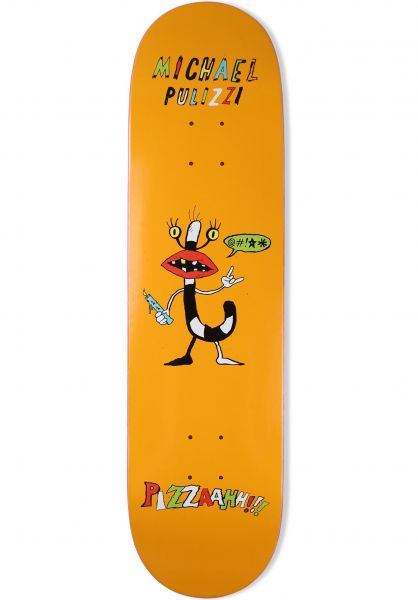Pizza Skateboards Skateboard Decks Pizzaah Monster Series Pulizzi vorderansicht 0261543
