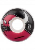 Toy-Machine-Rollen-Monsters-100A-white-Vorderansicht