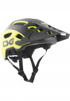 TSG Helme Trailfox Graphic Design sides acid yellow-black Vorderansicht