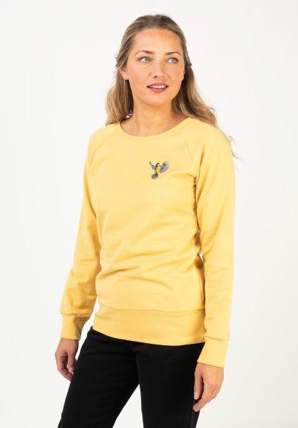 Mazine Sweatshirts und Pullover Marla yellow vorderansicht 0422960