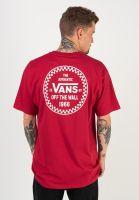 vans-t-shirts-checker-66-cardinal-vorderansicht-0321820