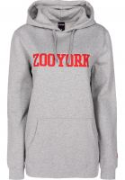 Zoo York Hoodies Womens College heathergrey vorderansicht 0444947