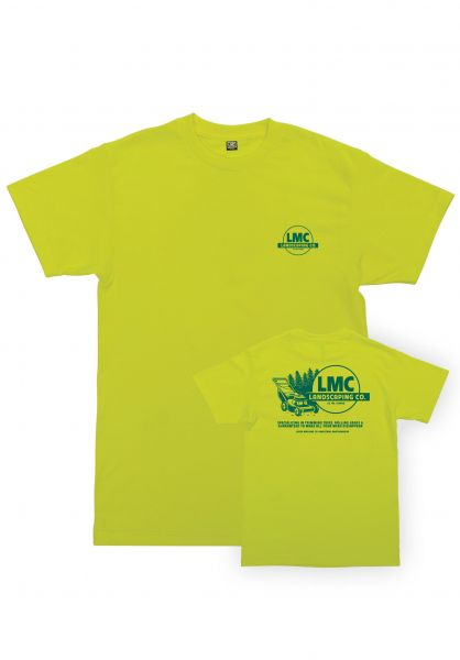Loser-Machine T-Shirts Landscaping safetygreen vorderansicht 0383248