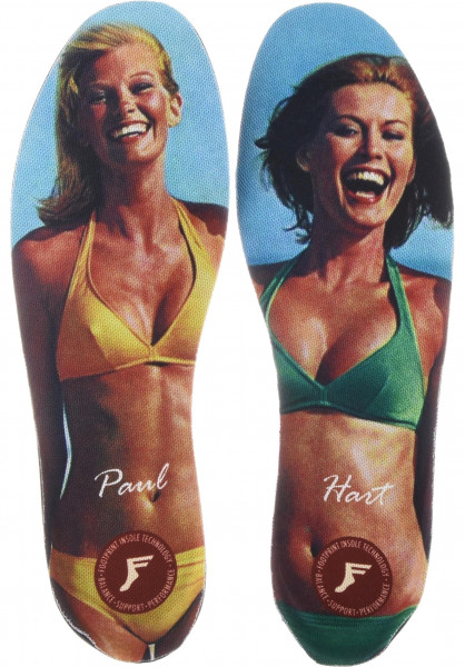 Footprint Insoles Einlegesohlen Kingfoam Elite Paul Hart Large multicolored Vorderansicht