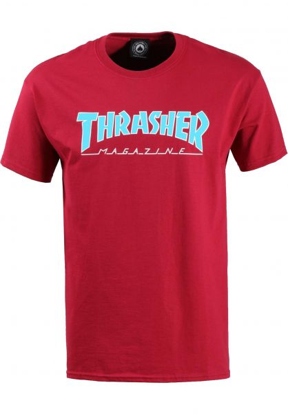Thrasher T-Shirts Outlined cardinal Vorderansicht