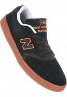 New Balance Numeric Alle Schuhe 598 black-orange-gum Vorderansicht