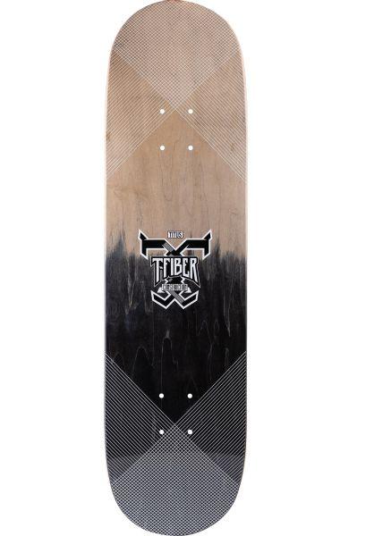 TITUS Skateboard Decks Colour Fade Logo T-Fiber grey-black vorderansicht 0261206