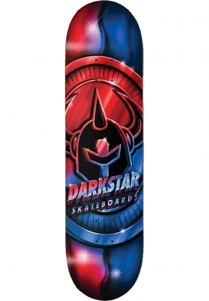 Darkstar Skateboard Decks Anodize Hybrid red-blue vorderansicht 0264743