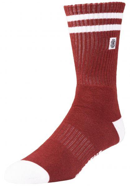 Element Socken Clearsight barnred vorderansicht 0631674