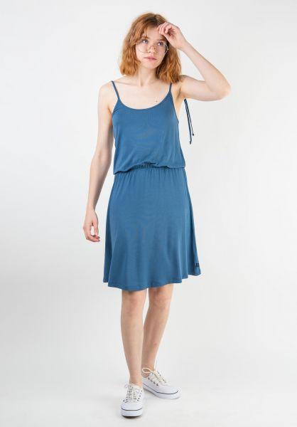 Forvert Kleider Sophia blue vorderansicht 0801477