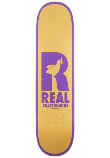 Real Skateboard Decks Renewal Doves gold vorderansicht 0266349