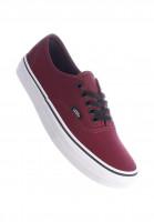Vans-Alle-Schuhe-Authentic-Classic-burgundy-white-Vorderansicht
