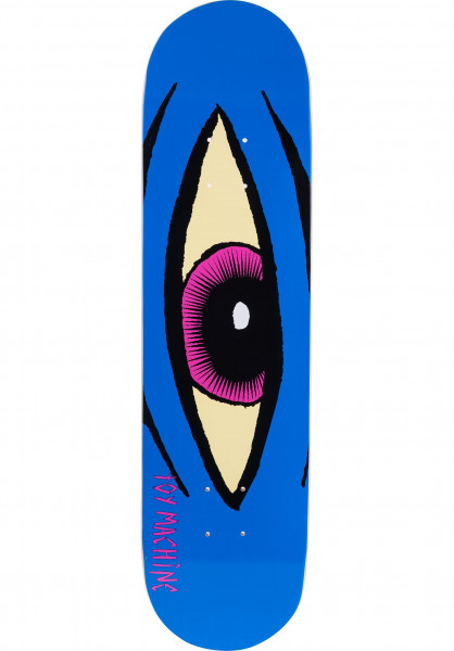 Toy-Machine Skateboard Decks Sect-Eye blue Vorderansicht