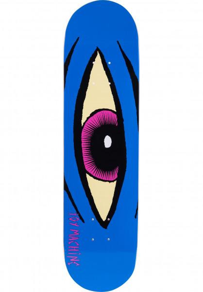 Toy-Machine Skateboard Decks Sect-Eye blue Vorderansicht