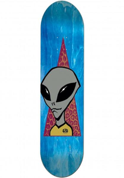 Alien-Workshop Skateboard Decks Visitor natural Vorderansicht