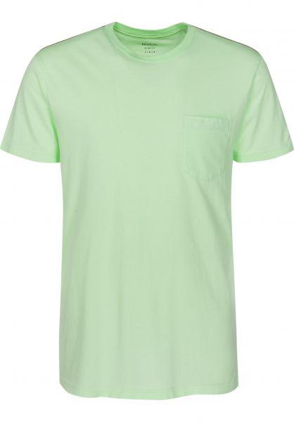 RVCA T-Shirts PTC 2 Pigment patina-green Vorderansicht