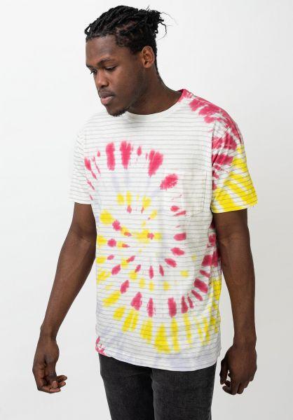 RVCA T-Shirts PTC Stripe multi vorderansicht 0321846