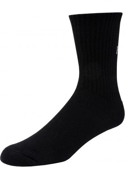 TITUS Socken Keep Pushing Set of 2 black vorderansicht 0632053