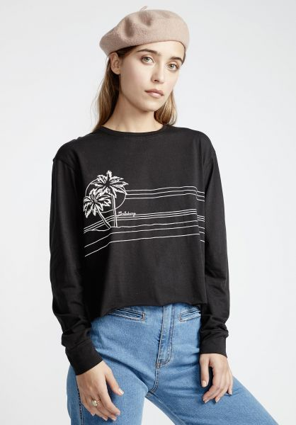 Billabong Longsleeves Play Time black vorderansicht 0382825