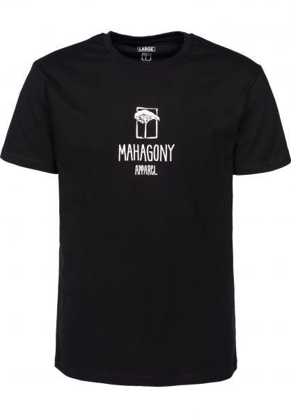 Mahagony T-Shirts C.I black Vorderansicht