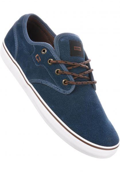Globe Alle Schuhe Motley navy-brown Vorderansicht