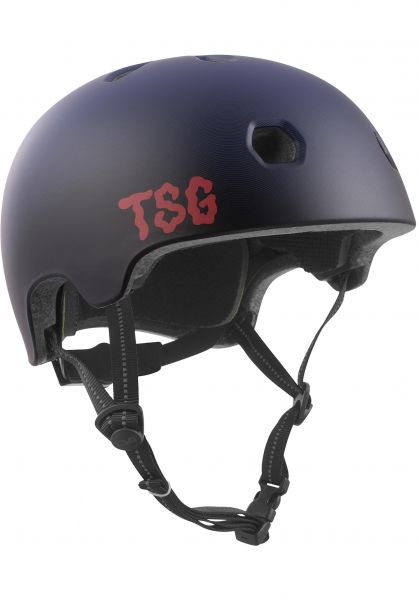 TSG Helme Meta Graphic Design fade of grape Vorderansicht