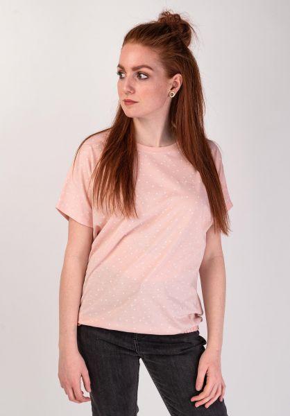Mazine T-Shirts Murpy lightpink-dots vorderansicht 0399214