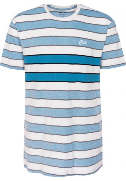 RVCA T-Shirts Joose lagoon Vorderansicht