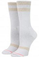 Stance Socken Classic Uncommon white Vorderansicht