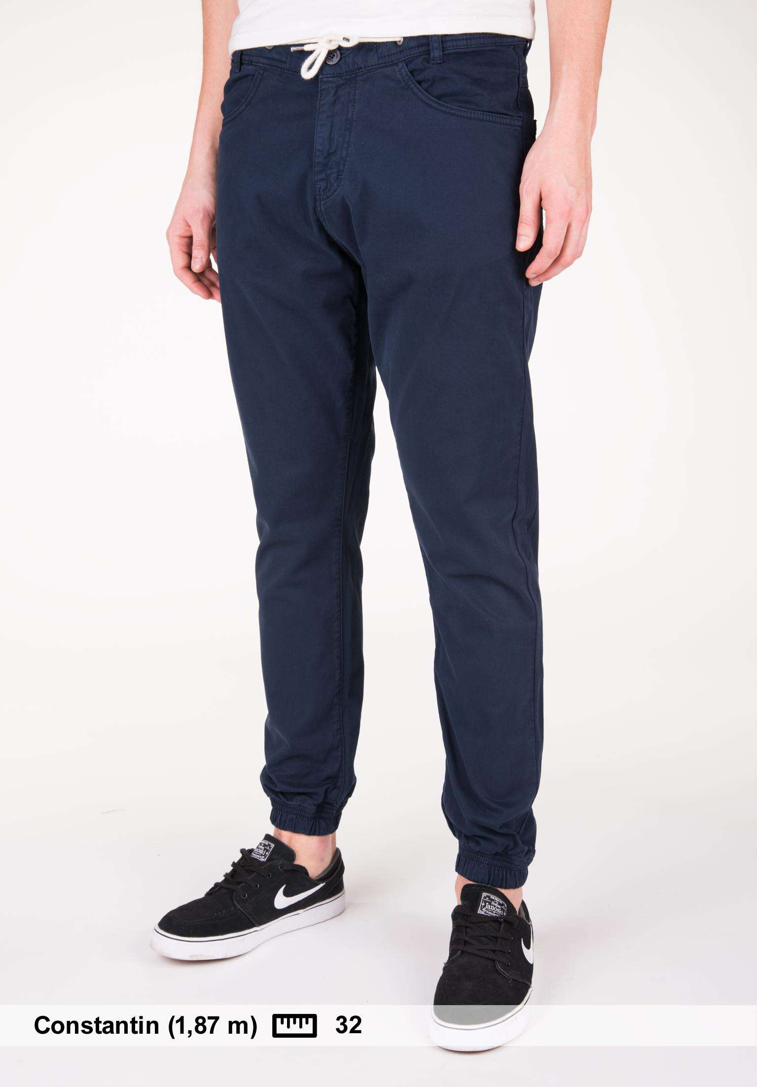 Chinowork Da UomoTitus Makia In Nautical Pantaloni Navy Trousers IYf6gbvmy7