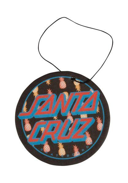 Santa-Cruz Verschiedenes Tropic Dot Air Freshener black-blue vorderansicht 0972536