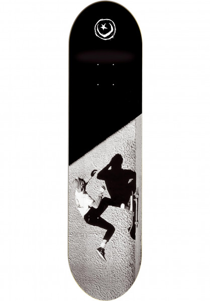Foundation Skateboard Decks JGB Push black Vorderansicht