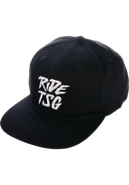 TSG Caps Ripped Snapback black vorderansicht 0565996