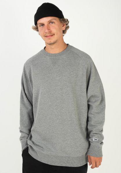 TITUS Sweatshirts und Pullover Script Crewneck greymottled vorderansicht 0422821
